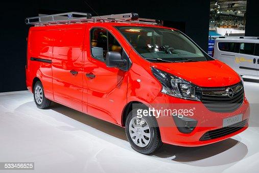 Opel Vivaro van comercial vehículo