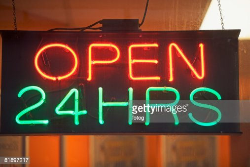 24 hrs stock photos and pictures getty images