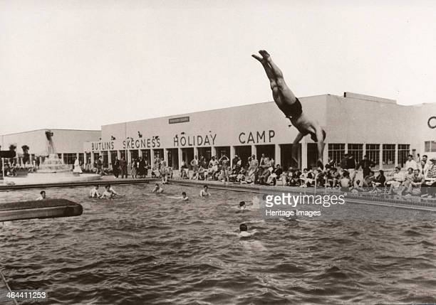 Open air swimming pool at Butlins Skegness 1936