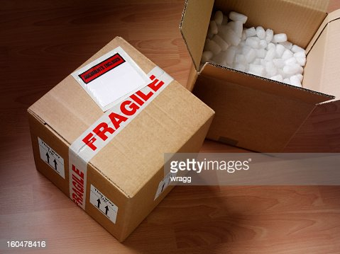 Open and Closed Cardboard Box : Stock Photo