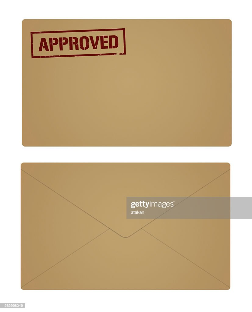 Open and Closed Envelope : Stock Photo