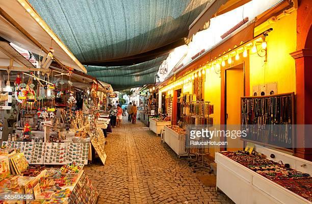 Open bazaar in Cunda Adasi