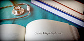 Open Book of Chronic fatigue Syndrome, conceptual image