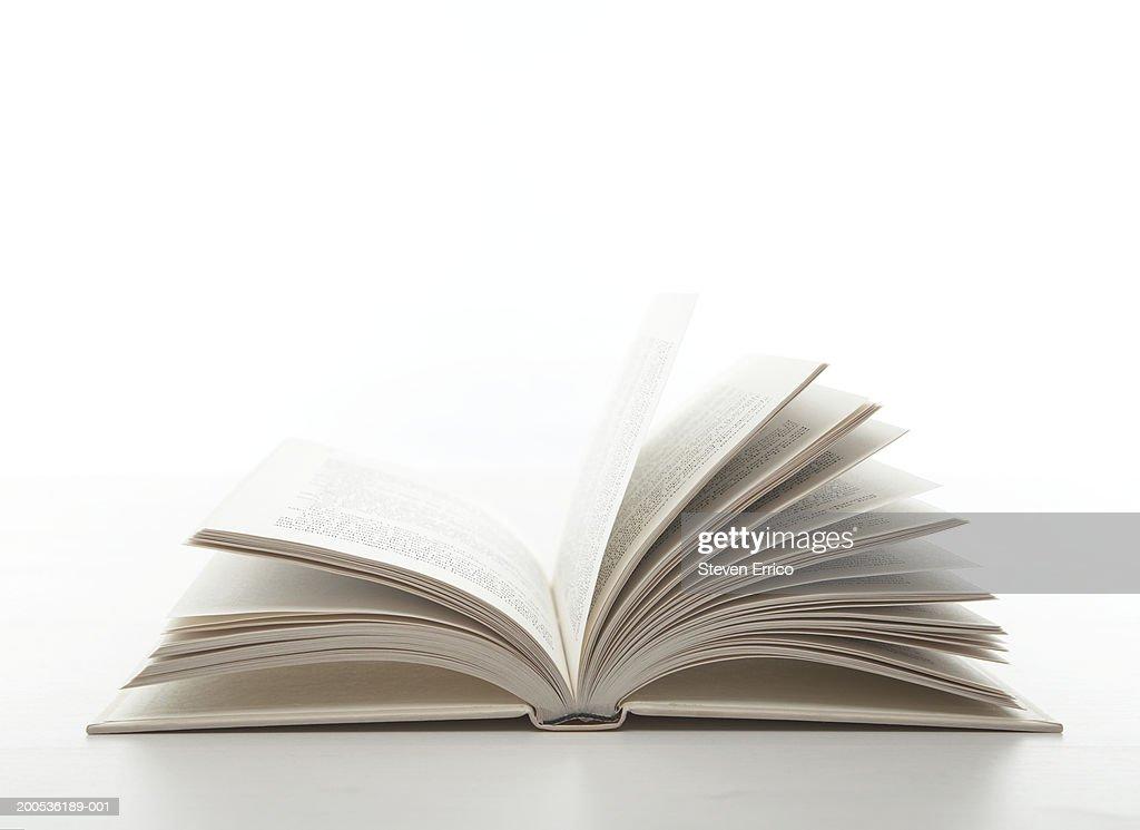 Open book : Stock Photo