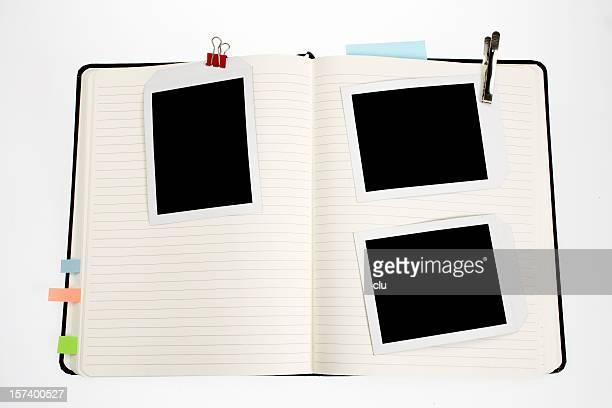 オープンブック、フォトフレーム、およびその