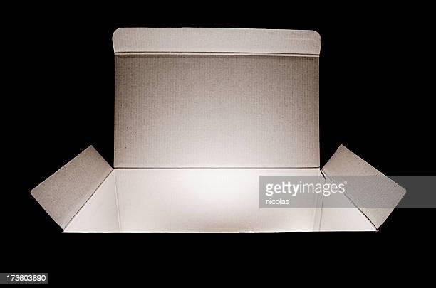 Ouverts boîte