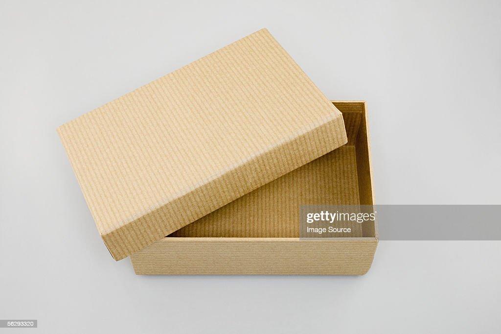 Open box : Stock Photo