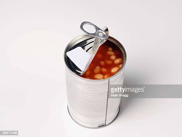 Open can of beans