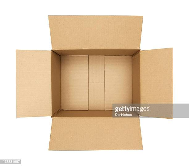 オープン段ボール箱