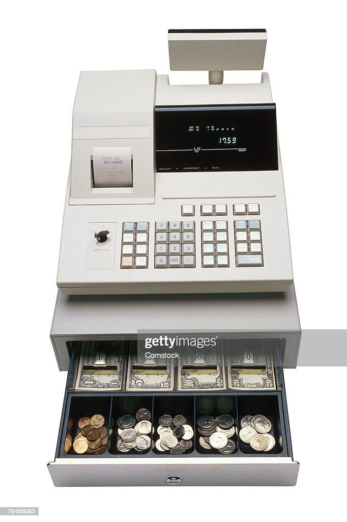 Open cash register