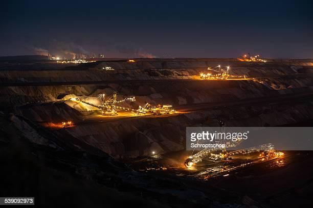 Offene Cast Bergbau