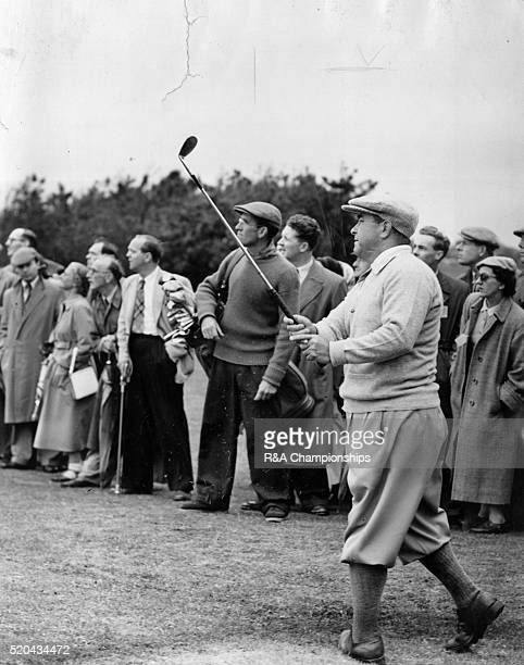 Open Championship 1954 at Royal Birkdale Golf Club in Southport England held 7th 9th July 1954 Pictured Gene Sarazen