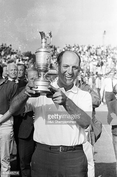 Open Championship 1967 Royal Liverpool Golf Club Hoylake Merseyside England held 12th 15th July 1967 Pictured Roberto De Vicenzo Open Champion 1967...