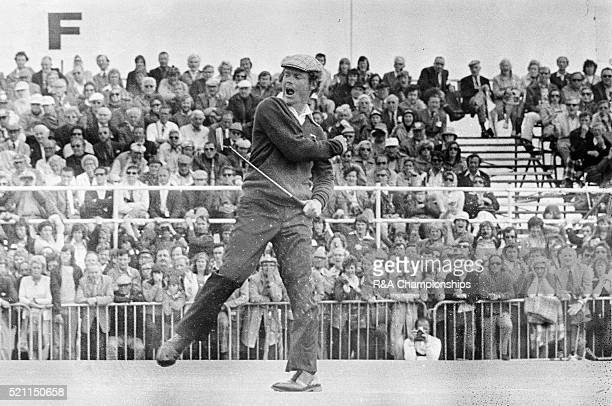 Open Championship 1975 Carnoustie Golf Links Scotland held 9th 13th July 1975 Pictured Tom Watson