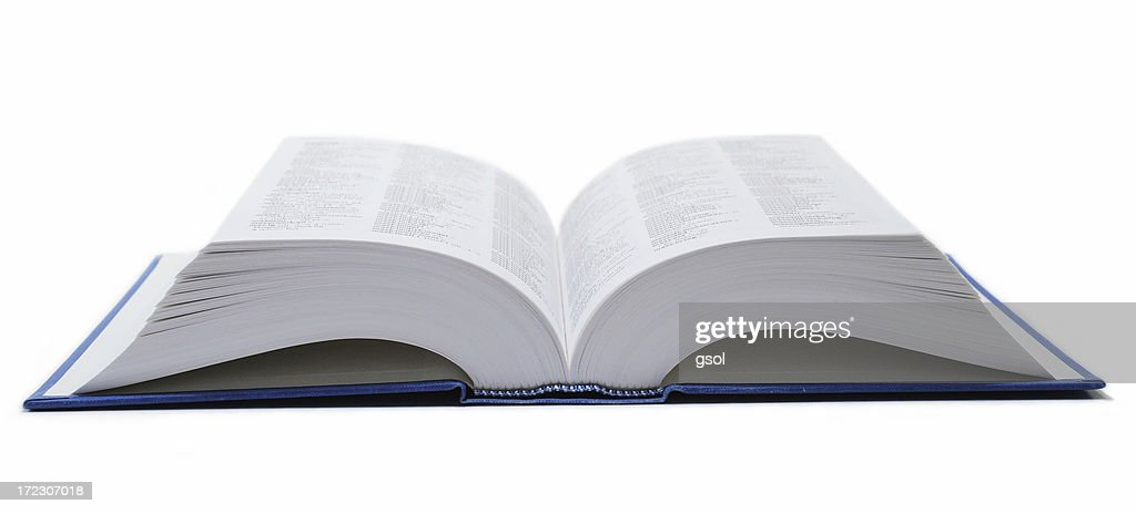 Open dictionary