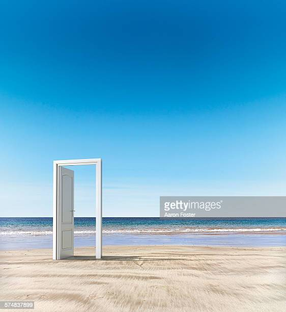 Open door beach concept
