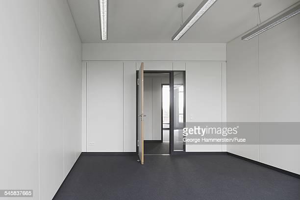 Open door in an empty office