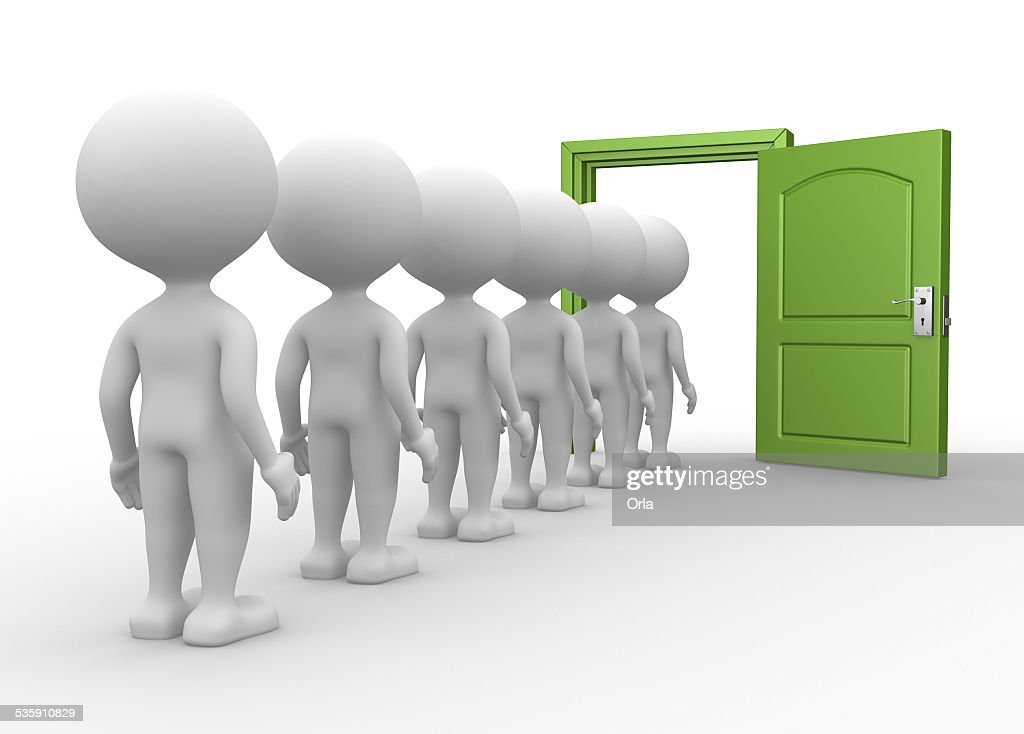 Open door : Stock Photo