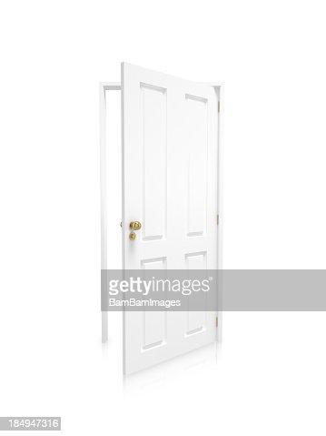 Open door - White