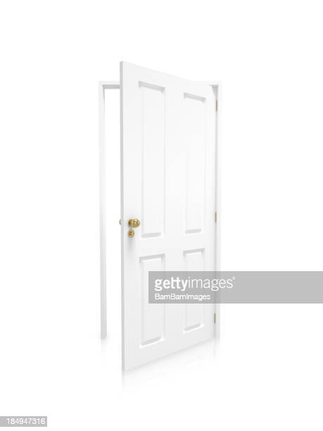 Open door - White