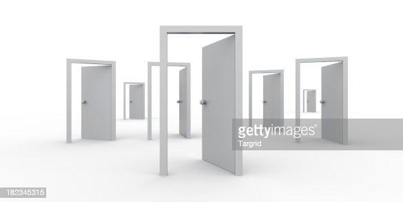 Ouvrez les portes à trouver votre chemin