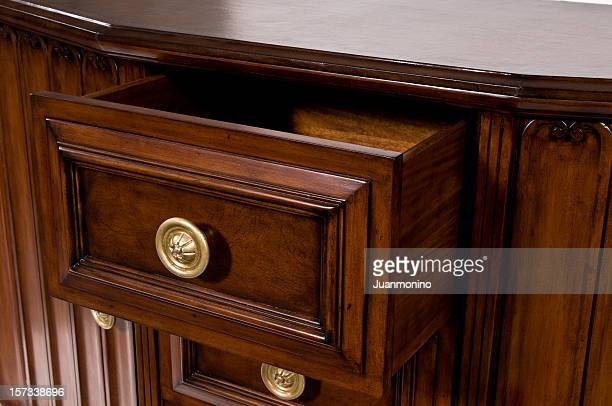 open drawer