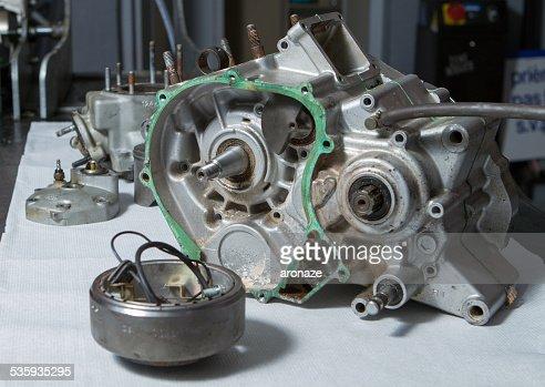 open engine : Stock Photo