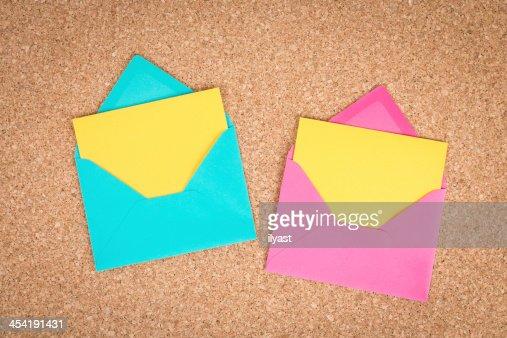 Envelope aberto : Foto de stock