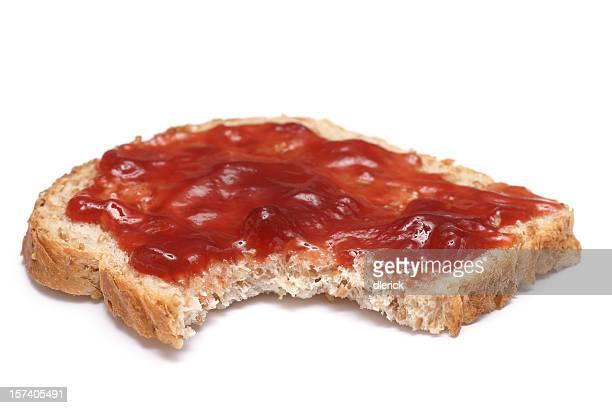 Das Gesicht-sandwich mit Snack-out