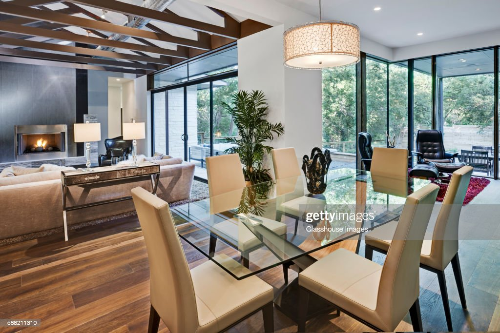 Open Floor Plan Living Space in Contemporary Home