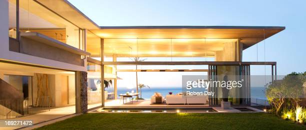 Offene Grundriss des modernen Haus