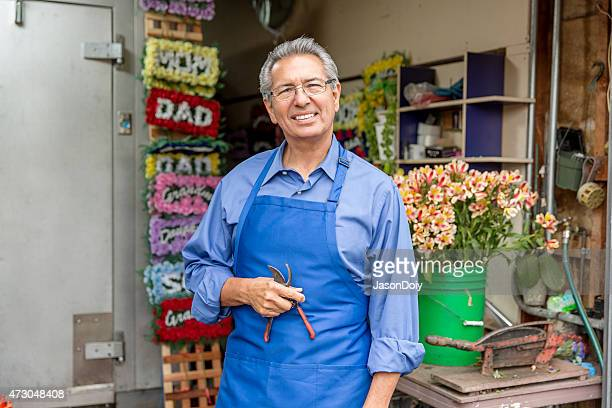 Open for Business: Hispanic Small Business Flower Shop Owner