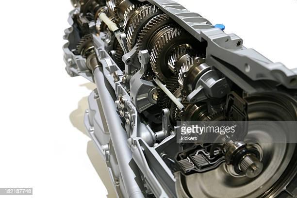 Offene gearbox Isoliert