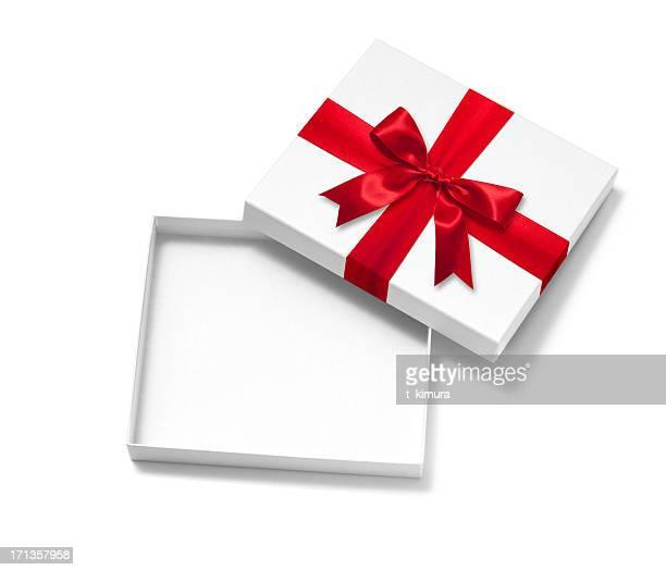 Offene Geschenk-Box
