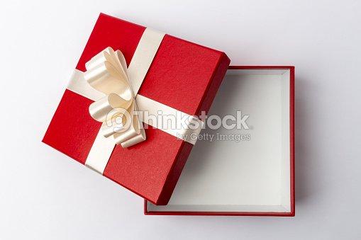 Open gift box top view stock photo thinkstock open gift box top view stock photo negle Images