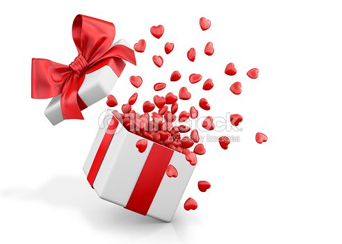 Open gift box with hearts stock photo thinkstock open gift box with hearts negle Gallery