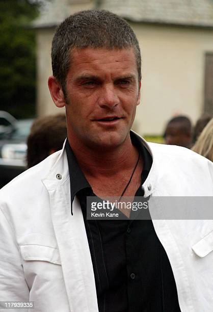 US Open golfer Jesper Parnevik during Golf Digest Companies Celebrates the 2002 US Open Golf Championship at Oheka Castle in Cold Spring Hills New...