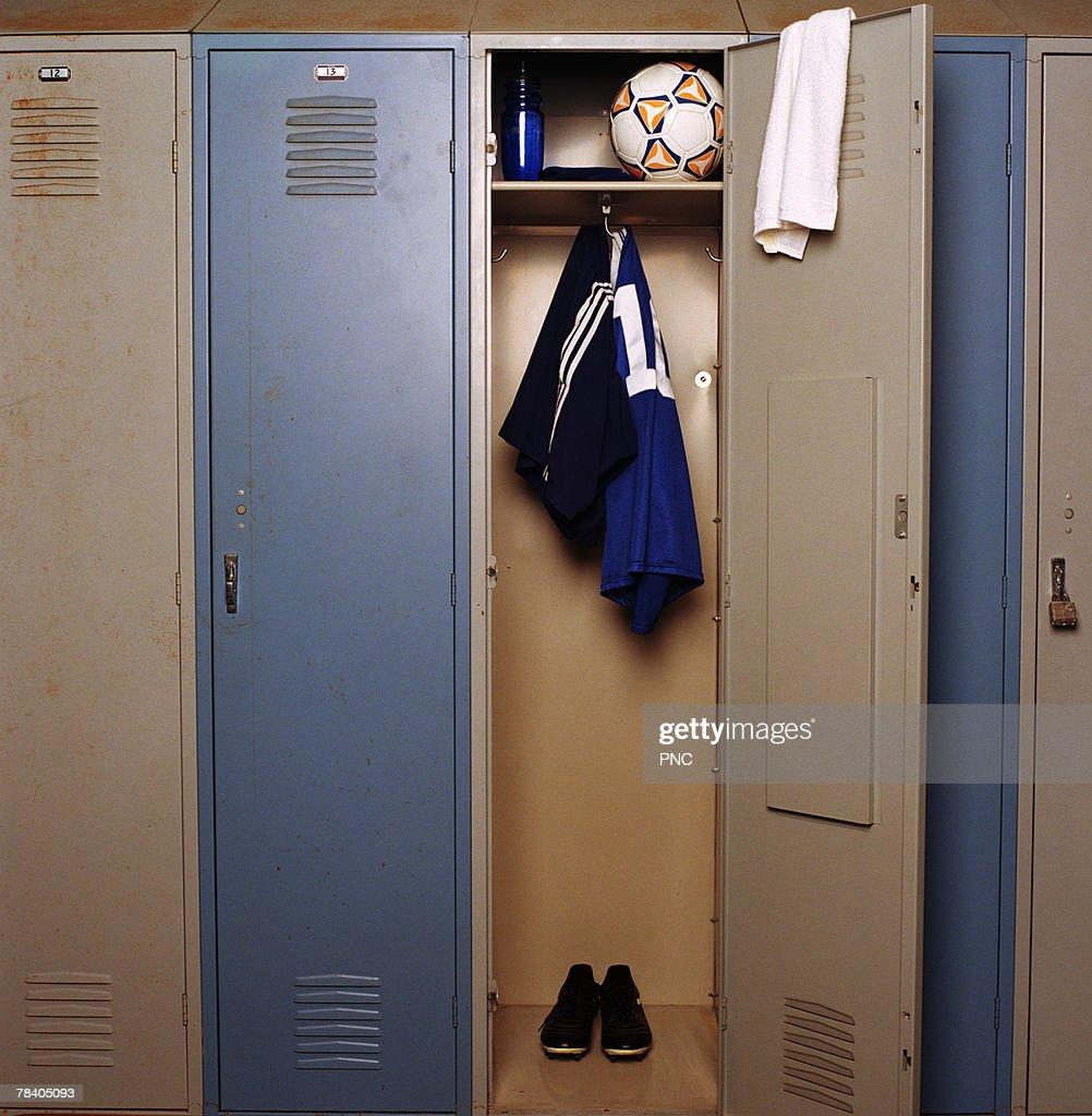 Open gym locker
