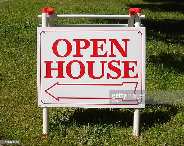 Open house California real estate sign