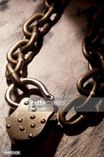 Open lock and chain stock photo getty images - How to open chain lock ...