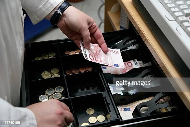 open money drawer