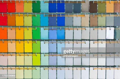 Open pantone color guide