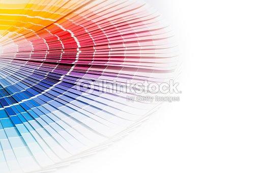 open pantone sample colors catalogue stock photo thinkstock