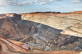 Open Pit Gold Mine in Kalgorlie, Western Australia