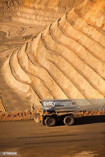 Open pit mine in the USA