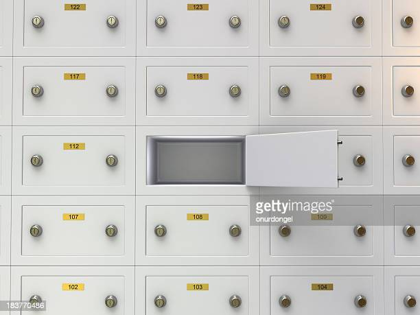 Open Safe Deposit Boxes