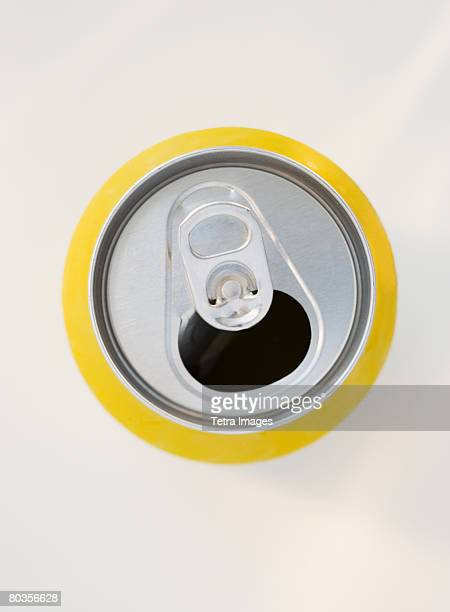 Open soda can