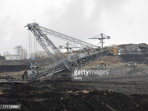 open Strip Coal mine