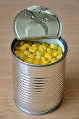 Open Sweet Corn