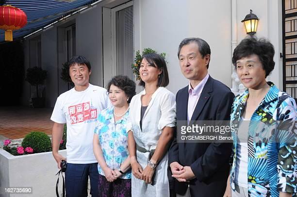 The Victory Of The Chinese Li Na Paris le 4 juin 2011 Victoire de la chinoise Li NA en finale du tournoi de tennis de RolandGarros Ici la soirée...